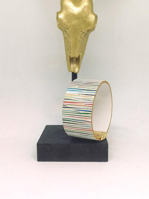 """Armband """"multicolor"""" rundsleder M669"""