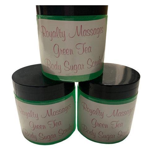 4oz Green Tea Body Sugar Scrub