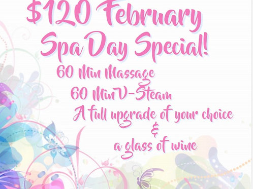 February Spa Day Special