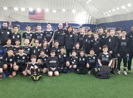 Director of Coaching NJ Youth Soccer Association Visits BSM PLAYERS!