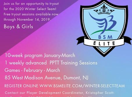 ETP Winter Select Team