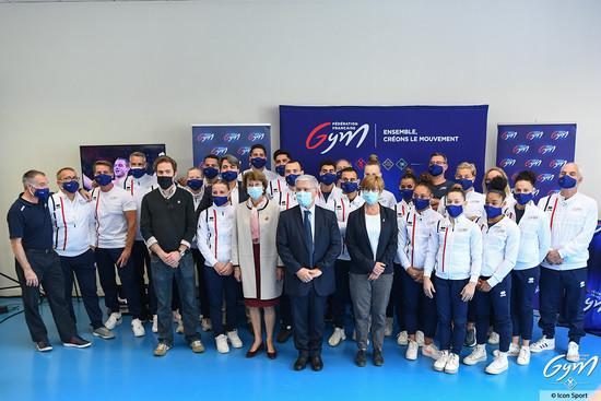 Soutenez l'équipe de France de gymnastique aux JO !!