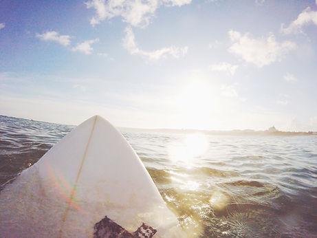 Surfboard On Water