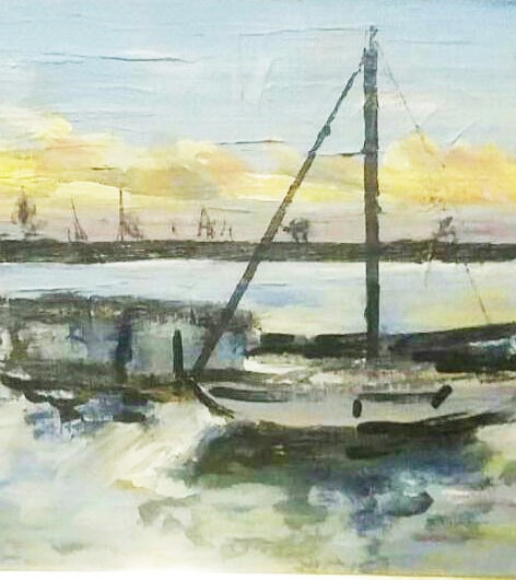 Sailboat in Abra