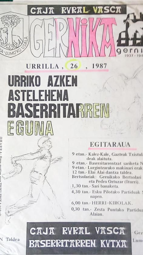 Last Monday of Gernika