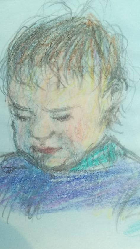 Vini Jauregui as a Child