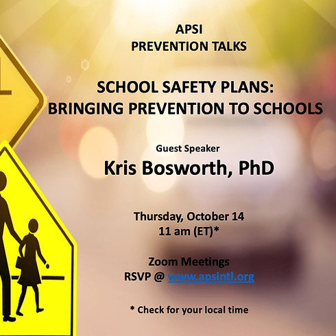 School Safety Plans: Building Prevention in Schools