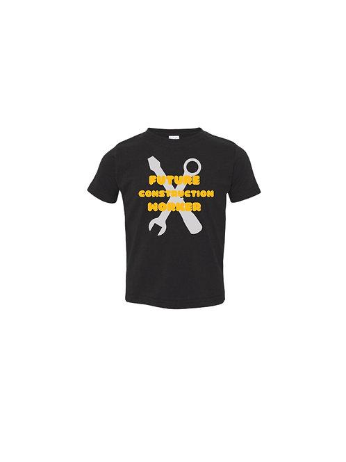 Future Construction Worker T-shirt