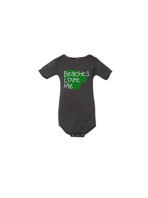Beaches Love Me Infant Bodysuit