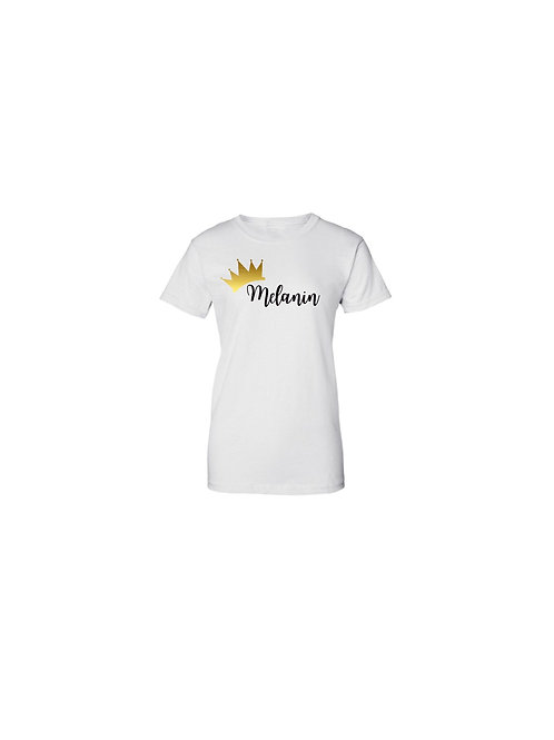 Women's Melanin Queen T-shirt