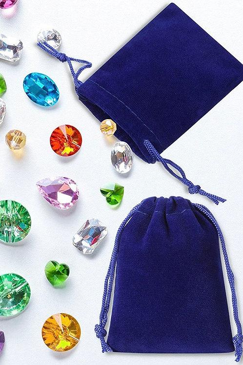 Velvet Drawstring Gift Pouch