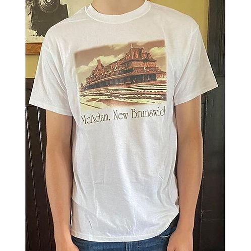 McAdam, NB T-Shirt (White)