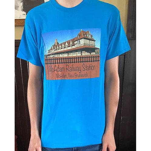 McAdam, NB T-Shirt (Blue)
