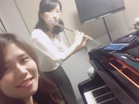 ピアノ合わせ