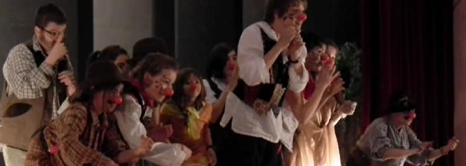Théâtre enfants en représentation