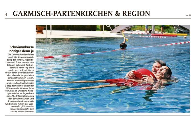 Wir bleiben unserem Motto treu! Jeder soll schwimmen lernen!