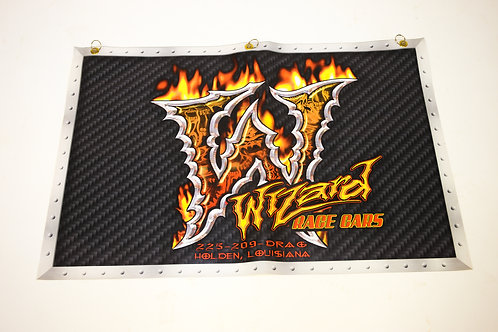 Wizard Flames Wheel Cover