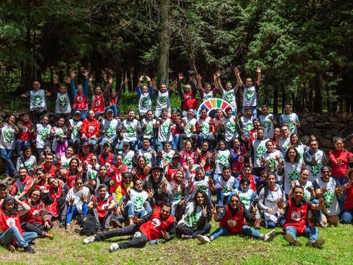 Reforestación Sport World en Desierto de los Leones, 2019.