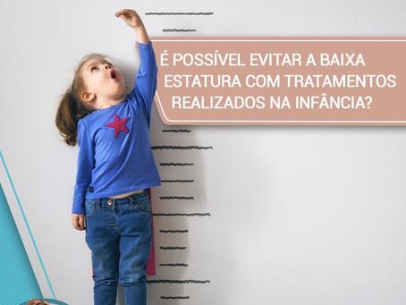 É possível evitar a baixa estatura com tratamentos realizados na infância