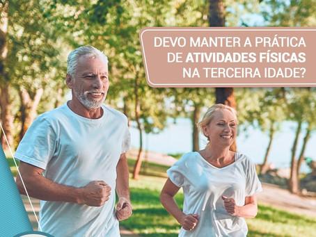 Devo manter a prática de atividades físicas na terceira idade?