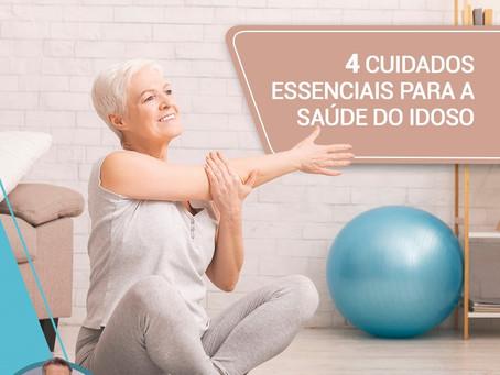 4 cuidados essenciais para a saúde do idoso