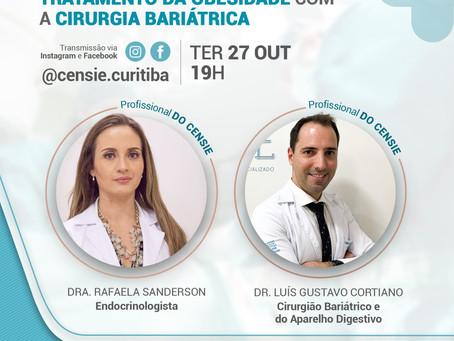 LIVE - Segurança na indicação e no tratamento da obesidade com a cirurgia bariátrica