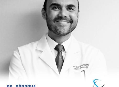Dr. Córdova é cliente COMUNICORE