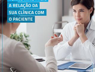 Torne mais fácil a relação da sua clínica com o paciente