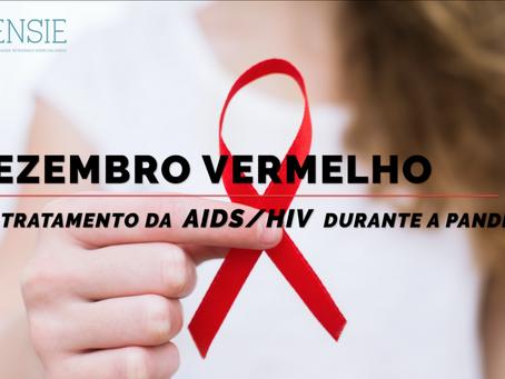 VÍDEO- DEZEMBRO VERMELHO E O TRATAMENTO DA AIDS/HIV DURANTE A PANDEMIA