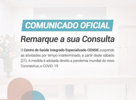 COMUNICADO OFICIAL - Remarque a sua consulta