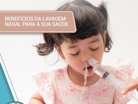 Benefícios da lavagem nasal para a sua saúde