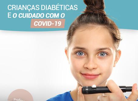 Crianças diabéticas e os cuidados com o COVID-19