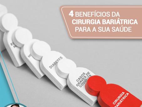 4 benefícios da cirurgia bariátrica para a sua saúde