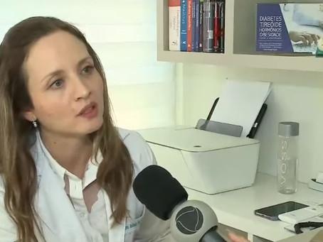 Endocrinologista da CENSIE da entrevista sobre o consumo de agrotóxicos