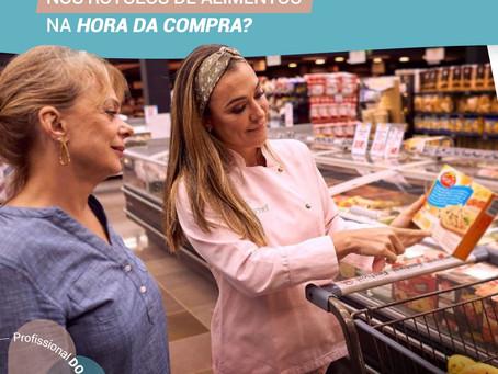 O que você observa nos rótulos dos alimentos na hora da compra?