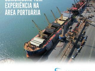 Comunicore tem experiência na área portuária