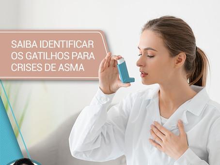 Saiba como identificar os gatilhos para crises de asma