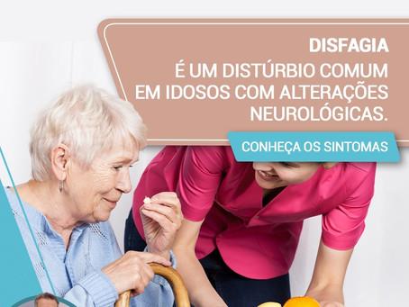Disfagia: é um distúrbio comum em idosos com alterações neurológicas