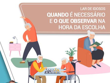 Lar de idosos: quando é necessário e o que observar na hora da escolha