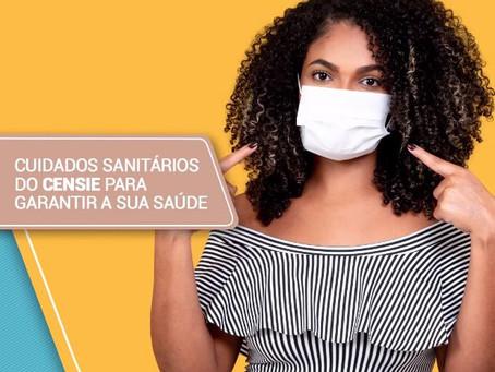 Cuidados sanitários do CENSIE para garantir a sua saúde