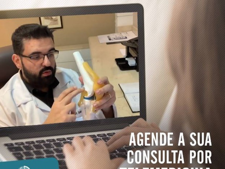 Agende sua consulta por telemedicina