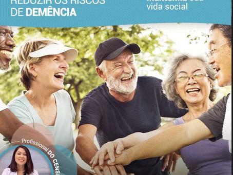 Saiba como reduzir os riscos de demência