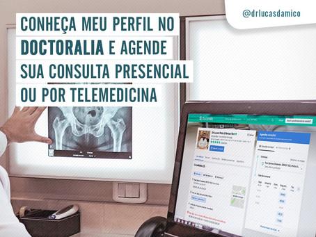 Conheça meu perfil no Doctoralia e agende a sua consulta presencial ou por telemedicina