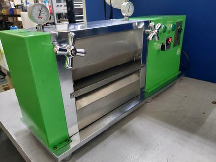 Calander Machine for Electrode Compression