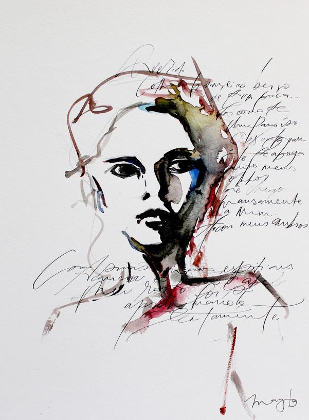 A mulher que narrava amor.