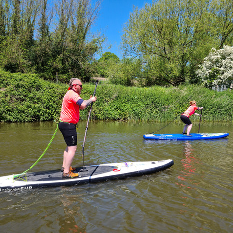 """""""Excellent day on the river with Helen. Really good instruction and a fun day out. Thank you!!"""" - Dan F"""