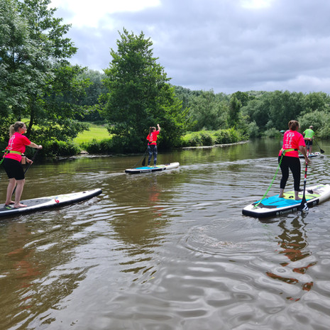 """""""Me and my family did a 2 hour SUP lesson with Helen, we all had a fantastic afternoon - we learnt loads and Helen made it a lot of fun!"""" - Ashleigh F"""