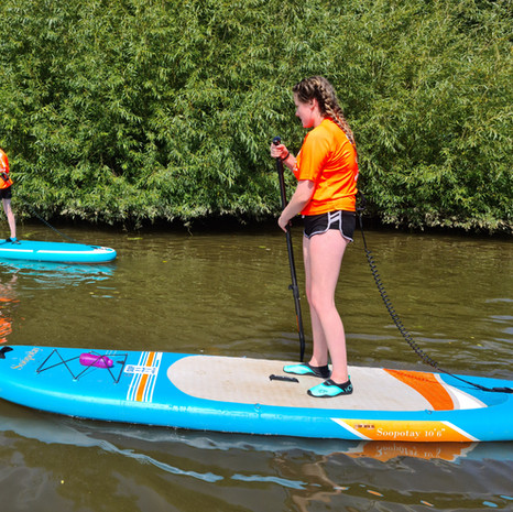 """""""Took 3 of my grandchildren ages between 12-14 who had never paddle boarded before. They loved it and Helen the instructor was brilliant, patient and excellent. Had great communication during the whole process and anyone wishing to try paddleboarding I would highly recommend SUP with us"""" - Michael H"""
