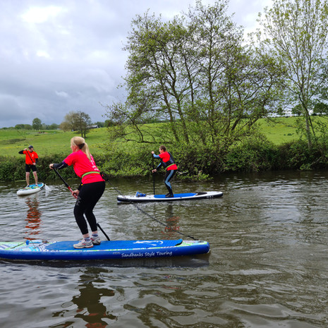"""""""Really enjoyed the beginners lesson! Helen is an excellent teacher, very professional. All the equipment needed was provided. I felt totally in safe hands. Felt we acheived a lot in the 2 hr lesson. Great advice / tips on continuing with SUP. Would definitely recommend. Thank you."""" - Aly S"""