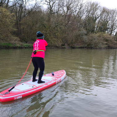 """""""Had a 1:1 lesson. Helen was very clear and friendly in her instruction. She was hugely informative about safety, kit and where to SUP. Highly recommend!"""" - Sophie B"""